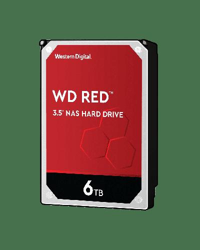 Твърд диск WD Red 6TB SATAIII 256MB for NAS 5400rpm