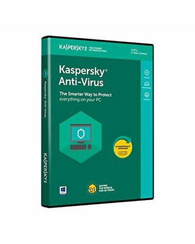 Kaspersky Anti-Virus 2020 3 лицензa 1година Box