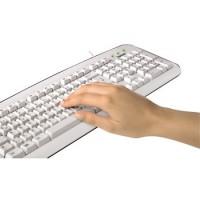 Клавиатура HAMAК210, бяла, USB