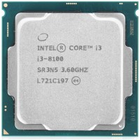 Процесор Intel Coffee Lake Core i3-8100 3.6GHz 6MB 65W s1151 tray