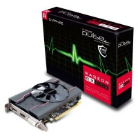 Видео карта SAPPHIRE AMD RADEON PULSE RX 550 4G GDDR5 128bit DVI HDMI DP LP OC