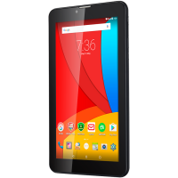 "Таблет Prestigio Multipad Wize 3407 4G 7"" 600*1024 IPS QC1.3GHz A5.1 1GB+8GB  0.3/2MP 2800mAh battery grey"