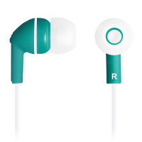 Слушалки с микрофон Cabyon CNS-CEP03G Green