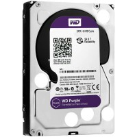 Твърд диск WD Purple  6TB 3.5'' 64MB 5400rpm SATA 6Gb/s WD60PURZ