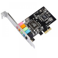 Sound card Estilo PCI-Ex CMI 8738 5.1