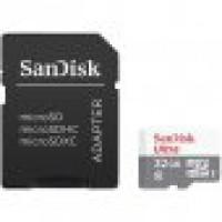 Флаш карта micro SD card  32GB SanDisk Ultra Class10 80MB/s
