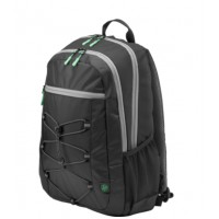 "Раница HP 15.6"" Active Backpack (Black/Mint Green)"
