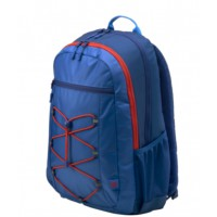 "Раница HP 15.6"" Active Backpack Marine Blue/Coral Red"