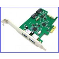 Конвертор PCIex to 2 x USB 3.0