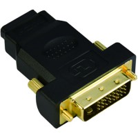Преходник Adapter DVI M / HDMI F Gold plated