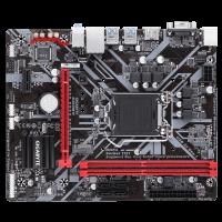 Дънна платка GIGABYTE B360M-H s1151 mATX 2xDDR4 M.2 Sata+NVMe Glan VGA HDMI
