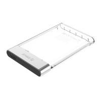 """Прозрачна кутия за 2.5"""" HDD/SSD дискове Orico 2129U3-CR USB 3.0"""