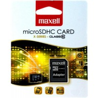 Флаш карта 8GB MAXELL  SD Micro  CLASS 10 с преходник