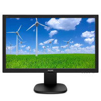 "Монитор Philips 243S5LHMB 23.6"" 1080p 1ms 250cd 1000:1 speakers D-SUB HDMI black"