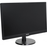 "Монитор Philips 243V5QSBA 23.6"" MVA 8ms 3000:1 10M:1 250cd 1080p D-Sub DVI Black"