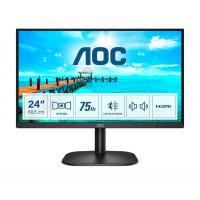 "Монитор AOC 24B2XDAM 23.8"" VA 1080p 4ms 250cd 3000:1 2Wx2 D-SUB DVI HDMI Black"