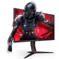 "Монитор AOC 24G2U 23.8"" 1080p@144Hz IPS 4ms 1000:1 250cd HDMI DP USB Speakers Black/Red"