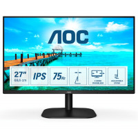 "Монитор AOC 27B2DA 27"" IPS WLED 1080p 75Hz 4ms 250cd/m2 2Wx2  D-SUB DVI HDMI"