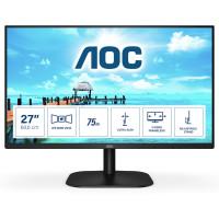 "Монитор AOC 27B2H/EU 27"" IPS WLED 1080p AG 4ms 1000:1  250cd/m2 FlickerFree Tilt D-SUB HDMI"