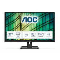 "Монитор AOC 27E2QAE 27"" IPS  1080p@75Hz 4ms 250cd 1000:1 speakers D-SUB HDMI DP black"