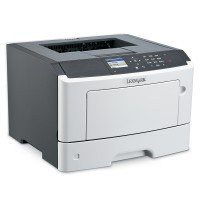 Lexmark MS417dn - 38 ppm; 1200 x 1200 dpi; 256 MB; Duplex; LAN, parallel, USB
