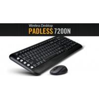 Комплект безжични клавиатура и мишка A4tech 7200N
