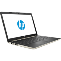 Лаптоп HP 15 15.6 FHD Antiglare Core i3-7020U 4 GB DDR4-2133 2TB 5400RPM DVD-RW  Pale gold