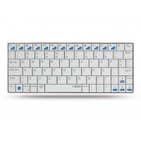 Клавиатура  Блутут RAPOO E6300 White   ултра тънка  за iPad/iPhone