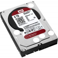 Твърд диск WD RED 6TB 64MB up to 7200rpm for NAS