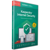 Kaspersky Internet Security 2020 3 лиценза 1 година Box