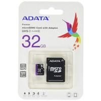Флаш карта Adata microSDHC UHS-I 32GB class 10