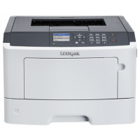 Принтер Lexmark MS510dn 42ppm 1200dpi duplex втора употреба с тонер касета за 10000к