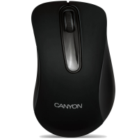 Мишка CANYON CNE-CMS2 (Wired, Optical 800 dpi, 3 btn, USB), Black