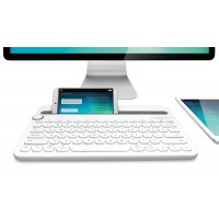 Клавиатура Logitech Bluetooth Multi-Device Keyboard K480, White