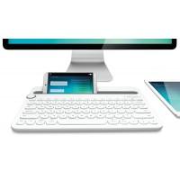 Клавиатура Logitech Bluetooth Multi-Device Keyboard K480, White