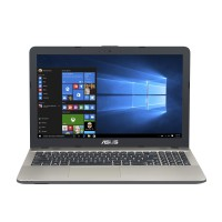 "Лаптоп Asus X541UA-GO1372  15.6"" HD Glare i3-7100U 4GB DDR4 1TB HDD DVD+/-RW Chocolate Black"