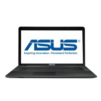 "Лаптоп Asus X751NV-TY001 Pentium N4200 17.3"" HD+ Glare 4GB DDR3  1TB GeForce 920MX 2GB DVD+/-RW  Black"