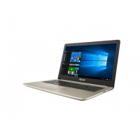 "Лаптоп Asus N580VN-FY077 Core i5-7300HQ 15.6"" FullHD IPS AG 8GB DDR4 1TB+1x SSD free GeForce MX150 4GB GDDR5 Gold Metal"