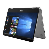 "Лаптоп Asus Flip TP401CA-BZ021T Intel Core M3-7Y30 14.0"" HD Glare Touch Ultraslim 4GB 128 eMMC Win 10 ASUS Pen (Stylus)"
