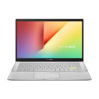 "Лаптоп Asus Vivobook S14 S433JQ-WB714T i7-1065G7 14"" 1080p AG 8GB 512G PCIE SSD GeForce MX350 2GB  Win10  White CarryBag"