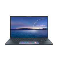 "Лаптоп Asus ZenBook UX435EA-WB711R ScreenPad i7-1165G7 14"" IPS 1080p 16GB  512GB NVME SSD  Win10 Pro  gray"