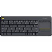 Клавиатура Logitech K400 Plus Wireless Touch Keyboard Black