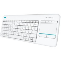 Клавиатура Logitech Wireless Touch Keyboard K400 Plus White