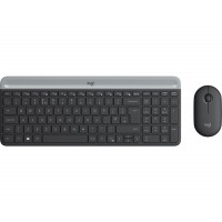 Клавиатура+мишка Logitech Slim Wireless MK470 - GRAPHITE
