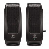 Тонколони Logitech S120 Black 2.0 Speaker System, OEM
