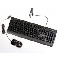 Комплект клавиатура + мишка DELUX DLK-6010 USB + DLM375U USB