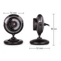 Уеб камера с микрофон A4tech PK-710G 16Mpix микрофон USB2.0