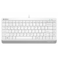 Мини клавиатура A4tech FK11 USB  12 hot keys  кабел 1.5m  Бял