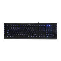 Клавиатура A4tech KD-600L USB LED синя подсветкаЧерна