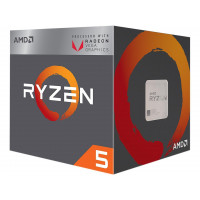 Процесор AMD RYZEN 5 2400G 3.6/3.9GHz 4C/8T 6MB 65W AM4 BOX